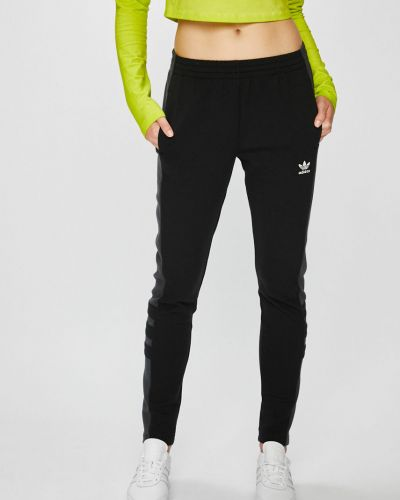 Брюки зауженные с карманами Adidas Originals