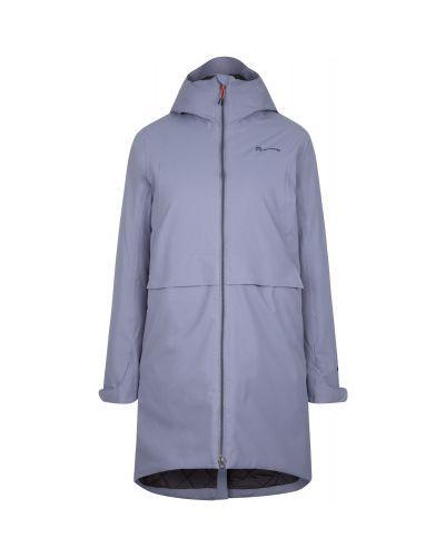 Прямая фиолетовая утепленная куртка мембранная на молнии Outventure