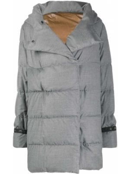 Куртка с капюшоном на молнии на пуговицах Eleventy