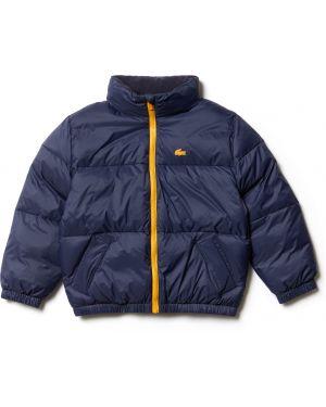 Куртка с капюшоном флисовая на молнии Lacoste