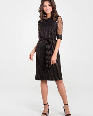 Платье мини в горошек сетчатое Mariko