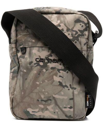 Зеленая сумка на плечо с вышивкой с карманами Carhartt Wip
