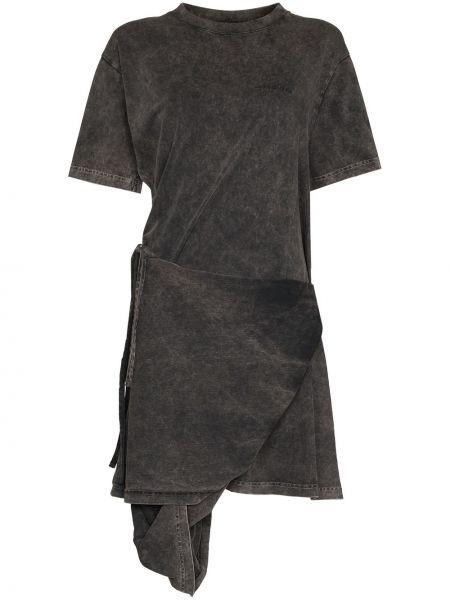 Платье рубашка - серое Y Project