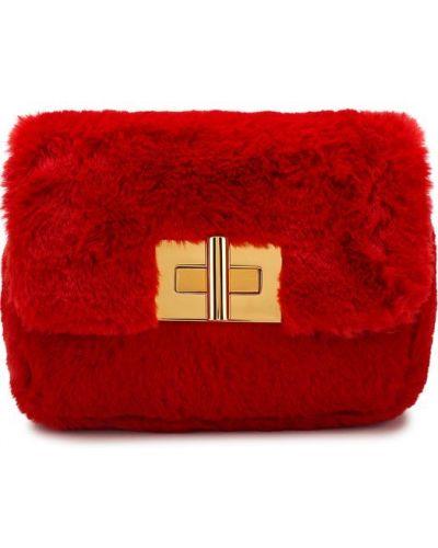 Красная вечерняя сумка Tom Ford