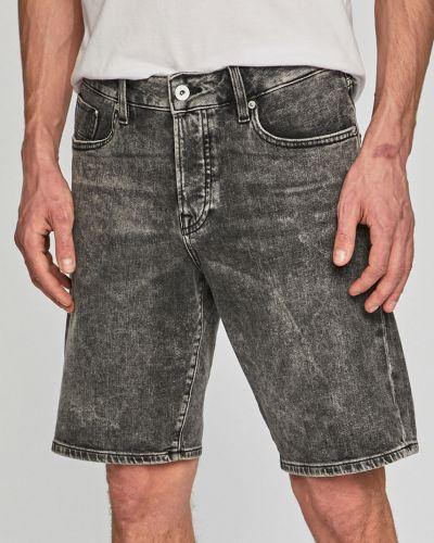 Джинсовые шорты хлопковые с карманами Scotch & Soda