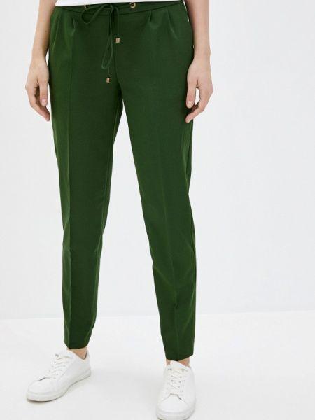 Зеленые брюки узкого кроя Antiga