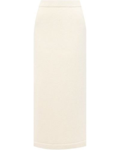 Шерстяная юбка - белая Tak.ori