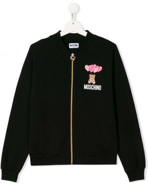 Черная куртка Moschino
