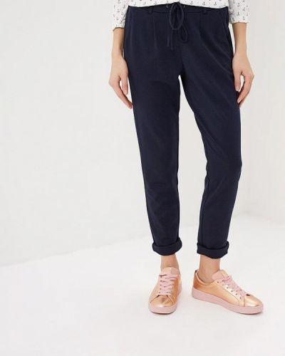 Синие брюки повседневные Tom Tailor