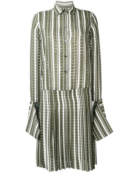 Платье миди на пуговицах платье-рубашка Rokh
