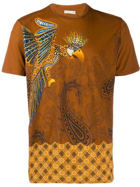 Klasyczny koszula z nadrukiem polskie Etro