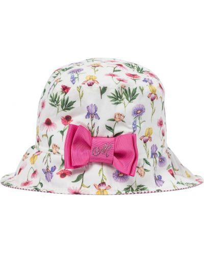 Biały bawełna bawełna kapelusz Monnalisa