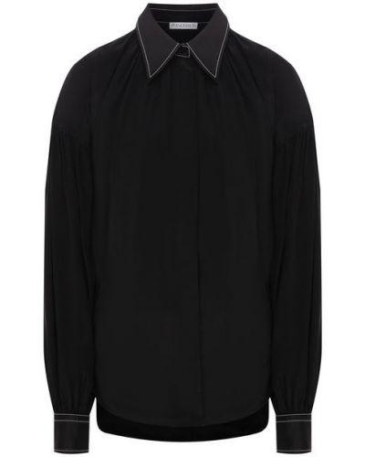 Блузка из вискозы - черная Jw Anderson