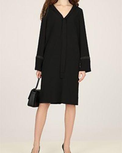 Черное платье для офиса Elisa Fanti