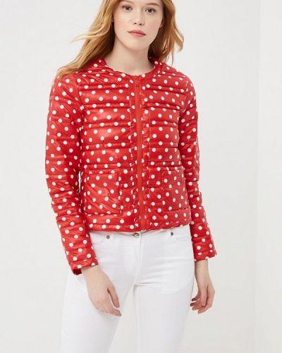 Красная укороченная куртка Silvian Heach