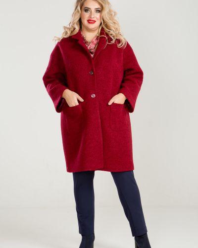 Пальто букле шерстяное Luxury