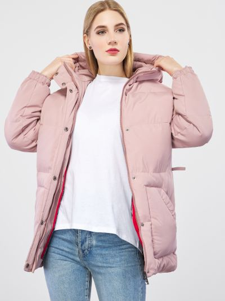 Повседневная куртка - розовая Braska
