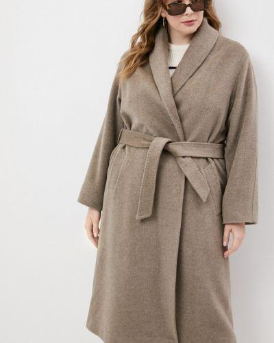 Коричневое пальто Gerard Darel