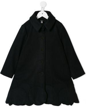 Расклешенное классическое длинное пальто на пуговицах Owa Yurika