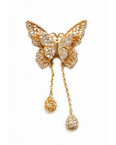 Брошь из золота золотого цвета Patricia Bruni