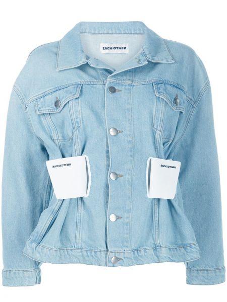 Klasyczne niebieskie jeansy bawełniane Each X Other