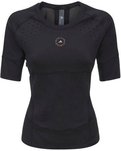 Лонгслив - черная Adidas By Stella Mccartney