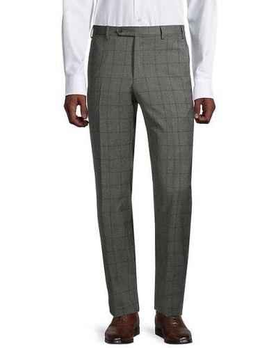 Шерстяные брюки с карманами Zanella
