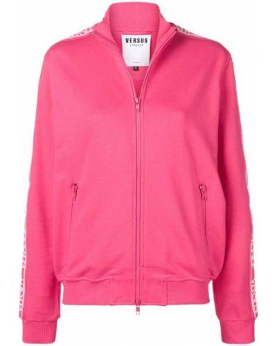 Розовая спортивная куртка Versus