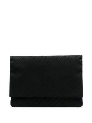 Czarna torba na laptopa z printem Ambush