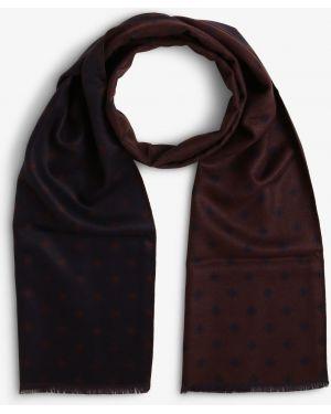 Brązowy szalik z wiskozy Finshley & Harding