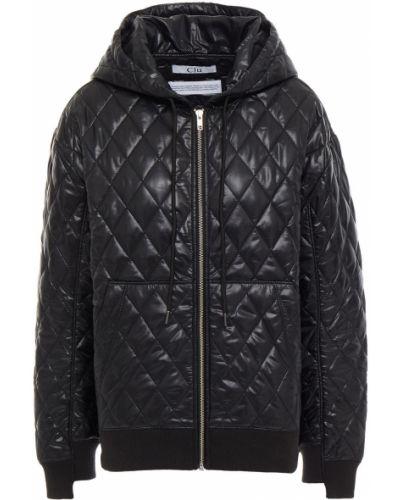 Стеганая куртка - черная Clu