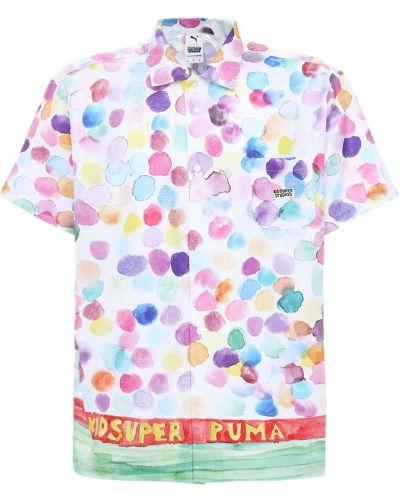 Koszula bawełniana z printem Puma Select