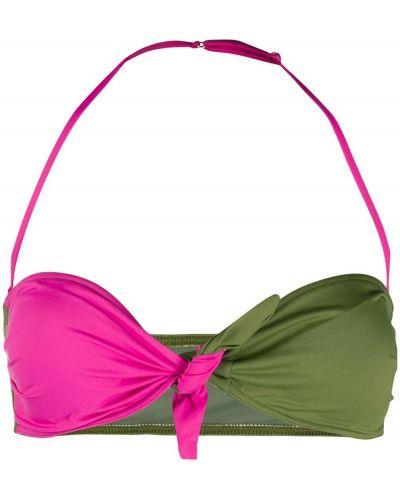 Зеленые бикини без застежки Mc2 Saint Barth