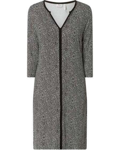 Sukienka rozkloszowana - biała S.oliver Black Label