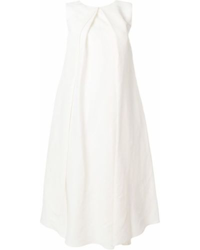 Платье со складками плиссированное Jil Sander