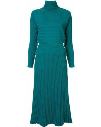 Вязаное платье миди Molli