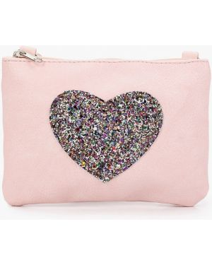 Розовая сумка из искусственной кожи Sela