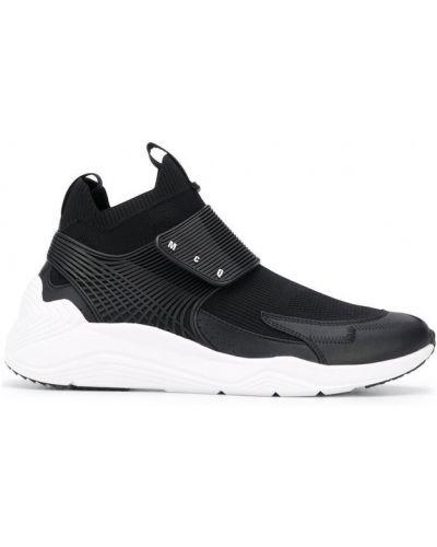 Sneakersy na rzepy - białe Alexander Mcqueen