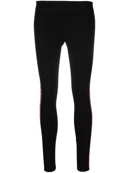 Czarny legginsy rozciągać Off-white