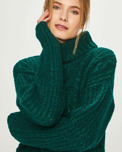 Свитер расклешенный зеленый Answear