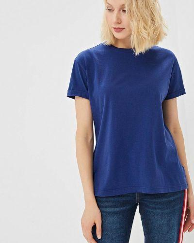 Синяя футболка 2019 Lee
