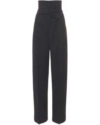 Czarne spodnie Jacquemus