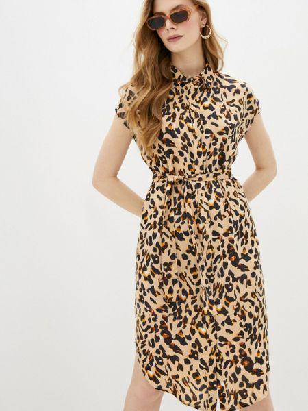 Платье прямое весеннее Pieces
