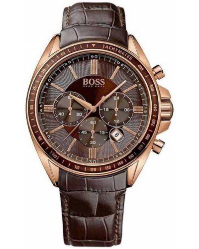 Brązowy zegarek sportowy Hugo Boss