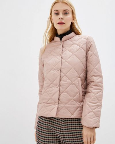 Розовая утепленная куртка Befree