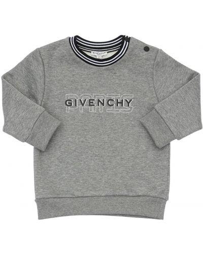 Bawełna bawełna bluza z kołnierzem z mankietami Givenchy