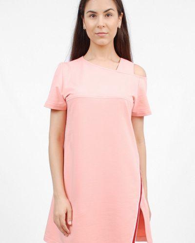 Коралловое платье Sab