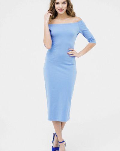 Голубое повседневное платье Mascot