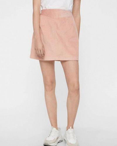 Юбка широкая розовая Noisy May