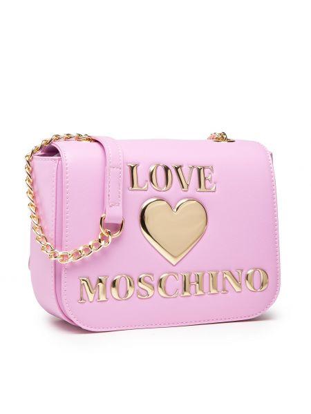 Różowa listonoszka Love Moschino